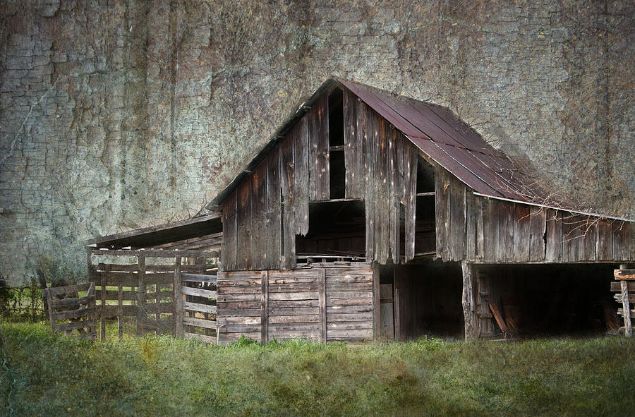 Friendly Barn Photograph  - Friendly Barn Fine Art Print