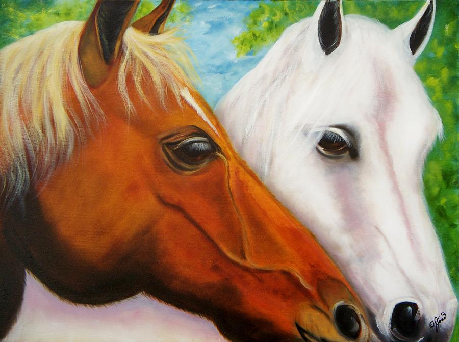 Friends Painting  - Friends Fine Art Print