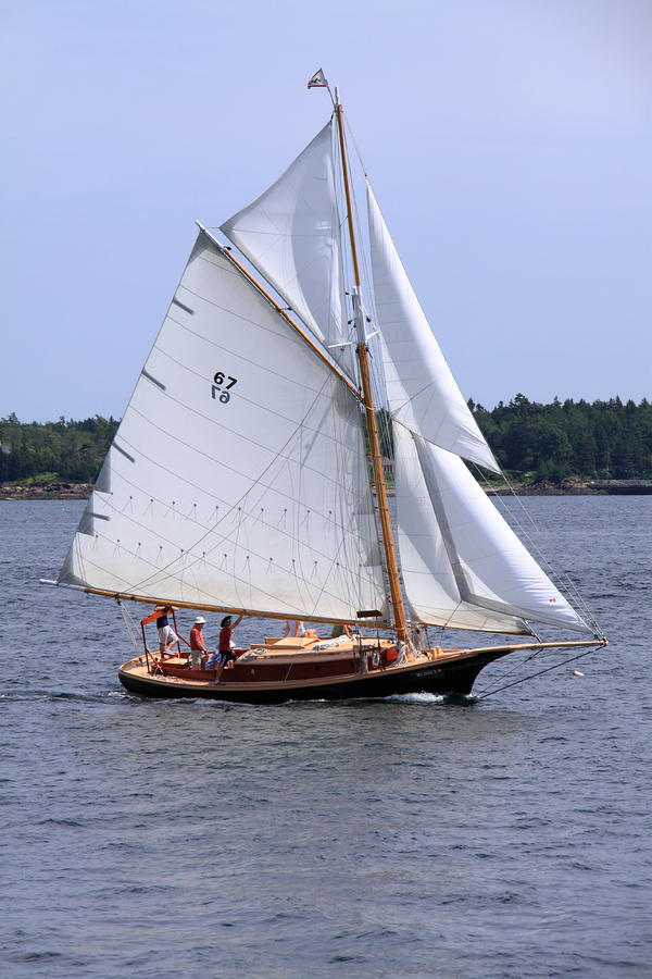 Friendship sloop by doug mills