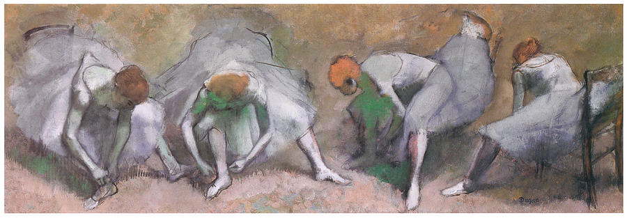 Frieze Of Dancers Painting  - Frieze Of Dancers Fine Art Print