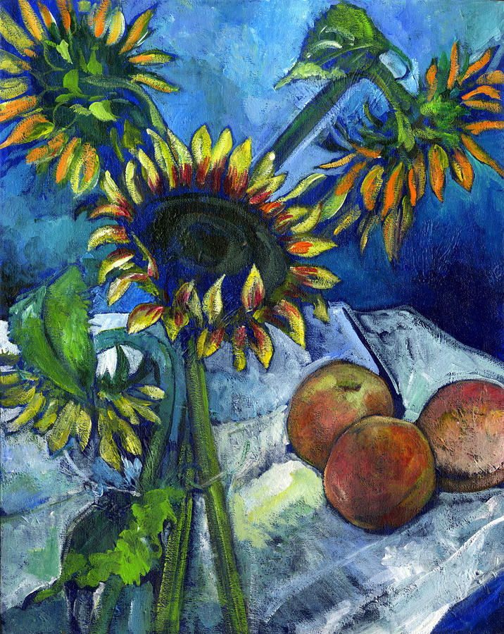 From The Farmers Market Painting  - From The Farmers Market Fine Art Print