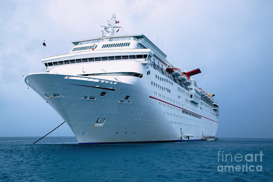 Front Of A Cruise Ship Photograph By Inti St Clair