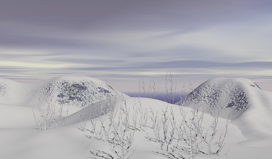 Frostbound Digital Art