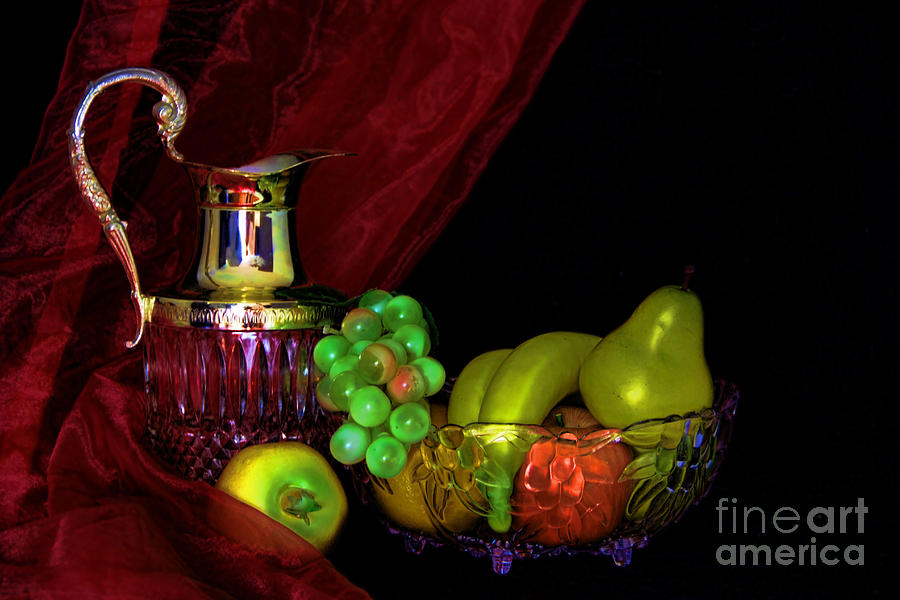 Fruit All A Glow Photograph  - Fruit All A Glow Fine Art Print