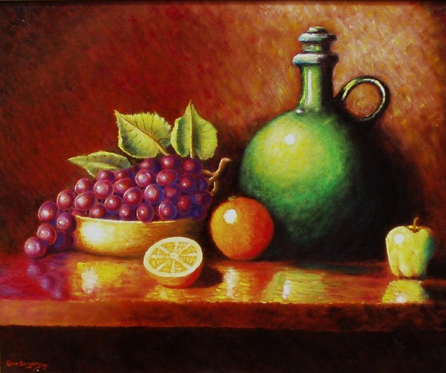 Fruit And Jug Painting