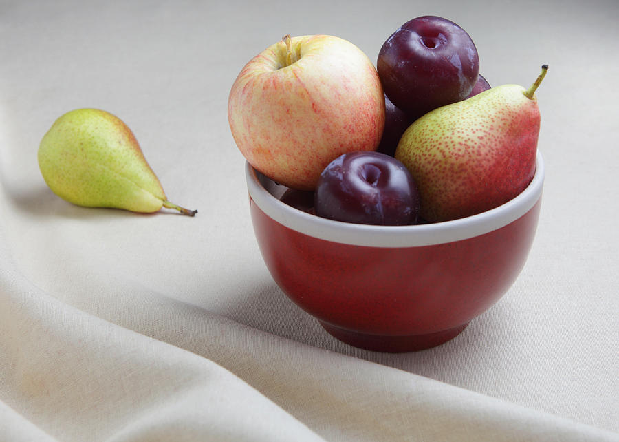 Fruit Bowl Still Life Photograph  - Fruit Bowl Still Life Fine Art Print