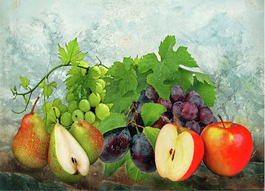 Fruit Garden Photograph  - Fruit Garden Fine Art Print