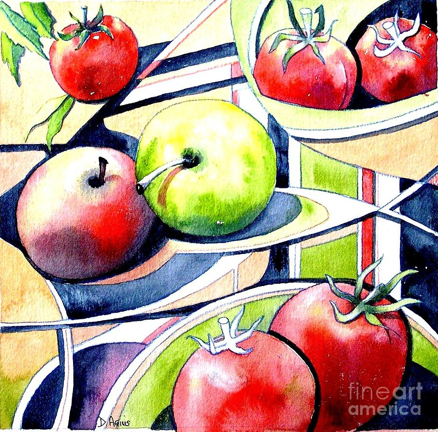 Fruit Salad Painting