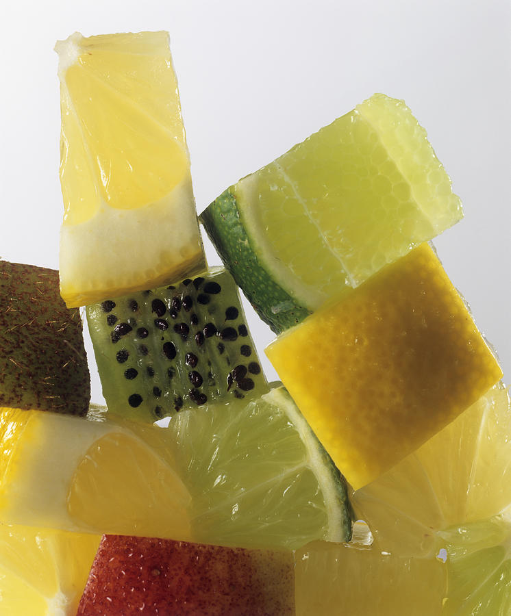 Fruit Squares Photograph
