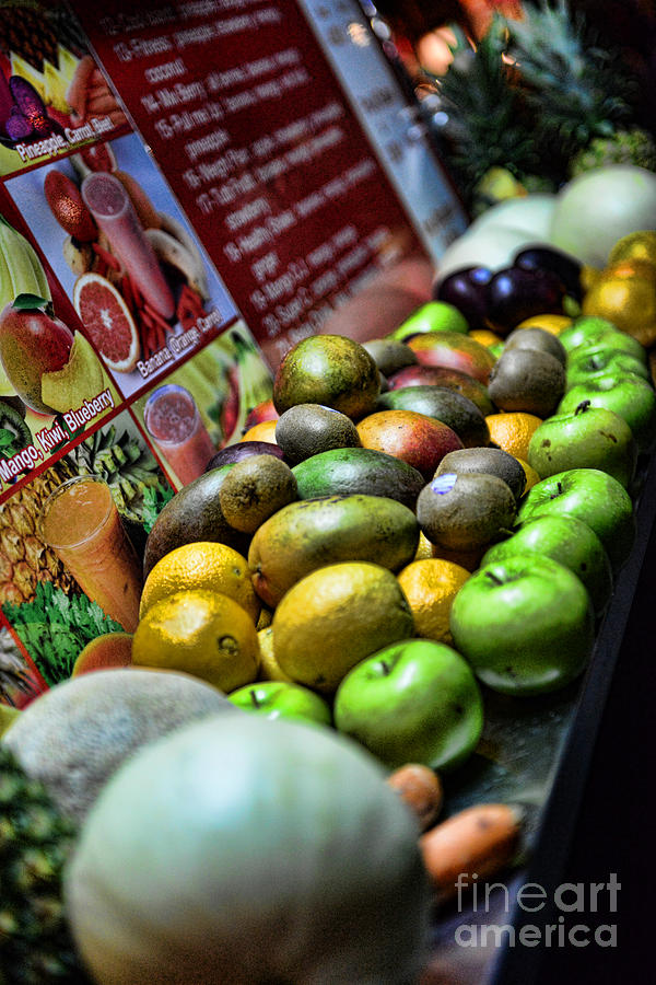 Fruit Stand Photograph
