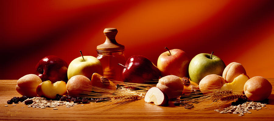 Fruits And Grains Photograph  - Fruits And Grains Fine Art Print