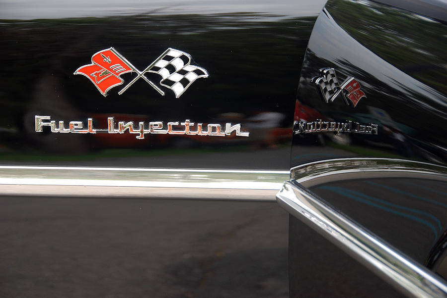 Automobiles Photograph - Fuel Injection X 2 by John Schneider