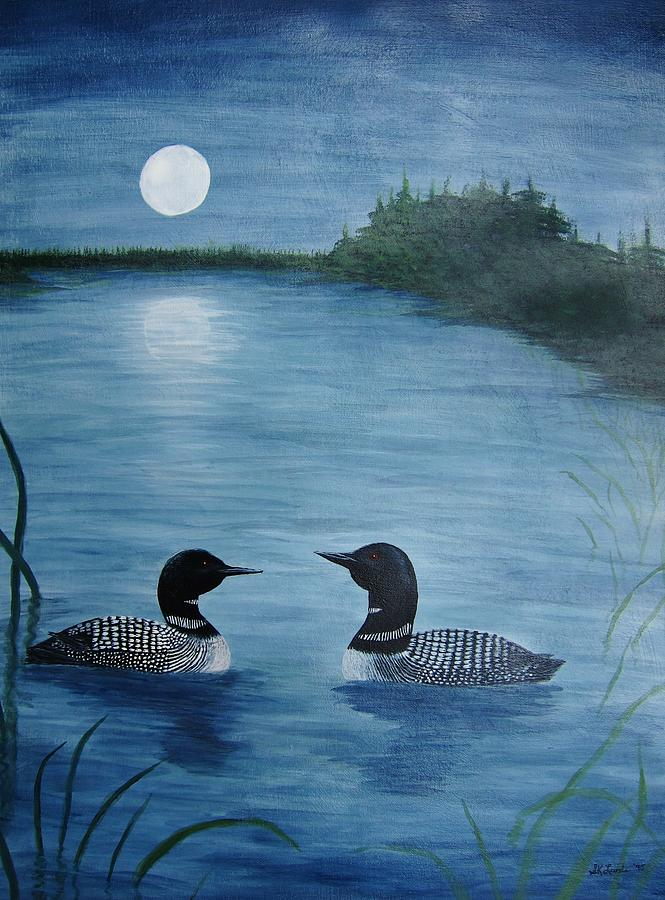Loon painting - photo#28