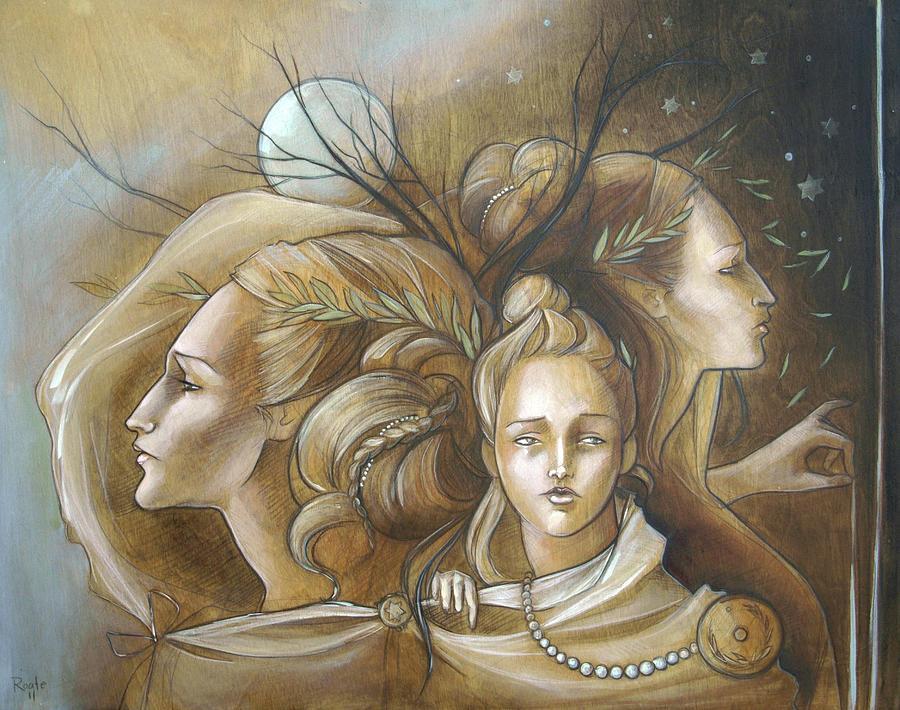 Full Moon Mysticism Painting