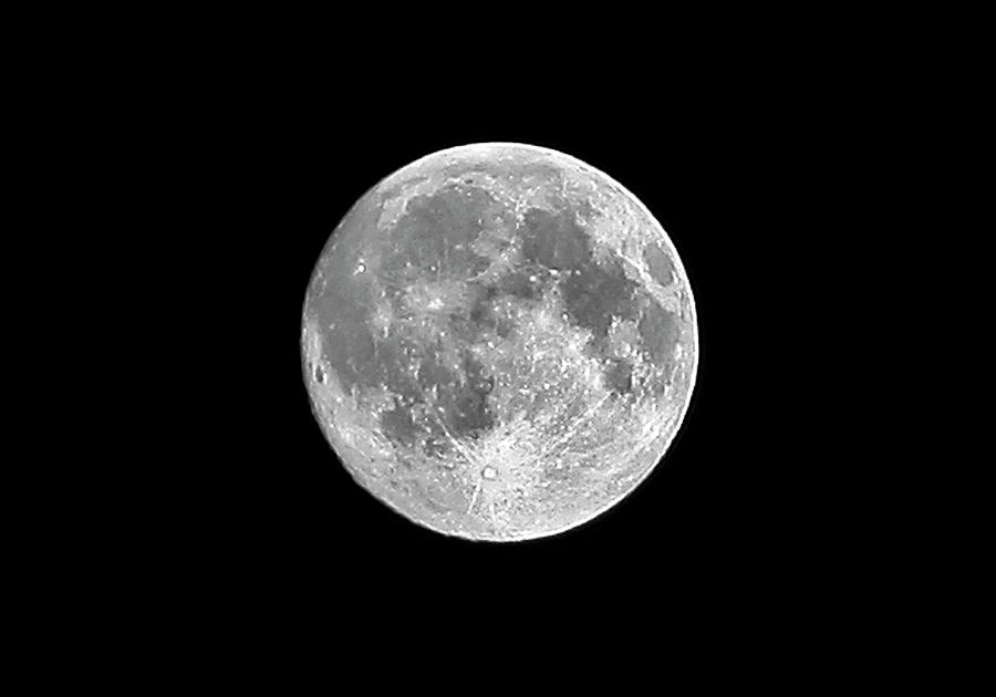 Full Moon Photograph  - Full Moon Fine Art Print