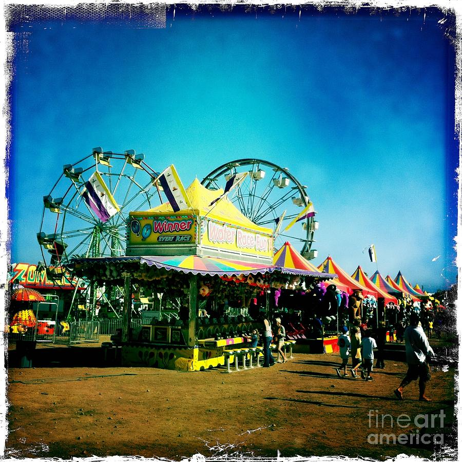 Fun At The Fair Photograph