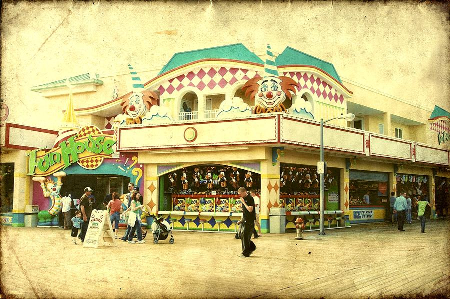 Fun House - Jersey Shore Photograph  - Fun House - Jersey Shore Fine Art Print