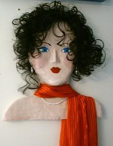 Funky Mama - Iris Sculpture