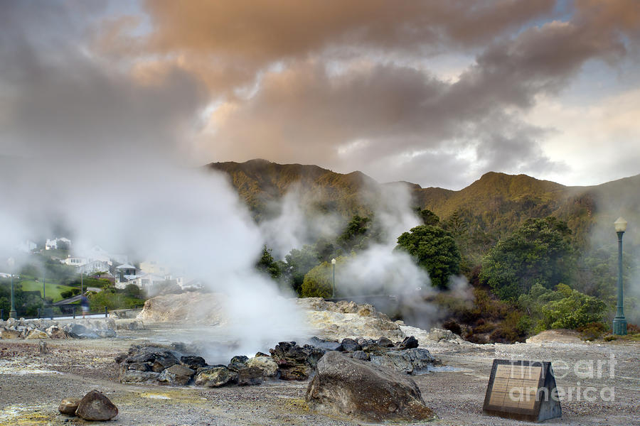 Azores Pastel - Furnas by Andre Goncalves