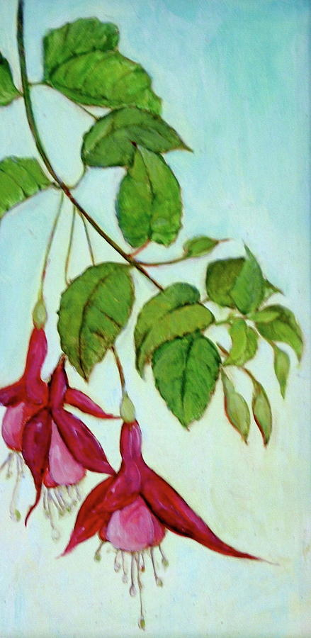 Fushia Painting