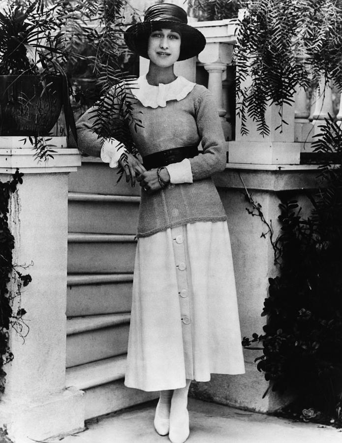 Future Duchess Of Windsor Wallis Photograph