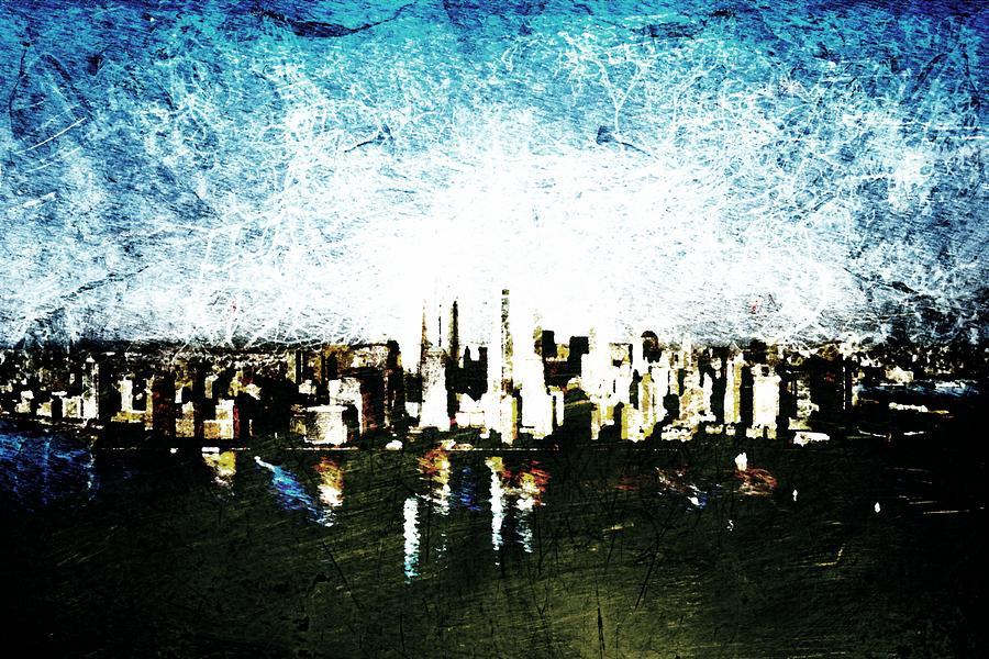 Future Skyline Digital Art