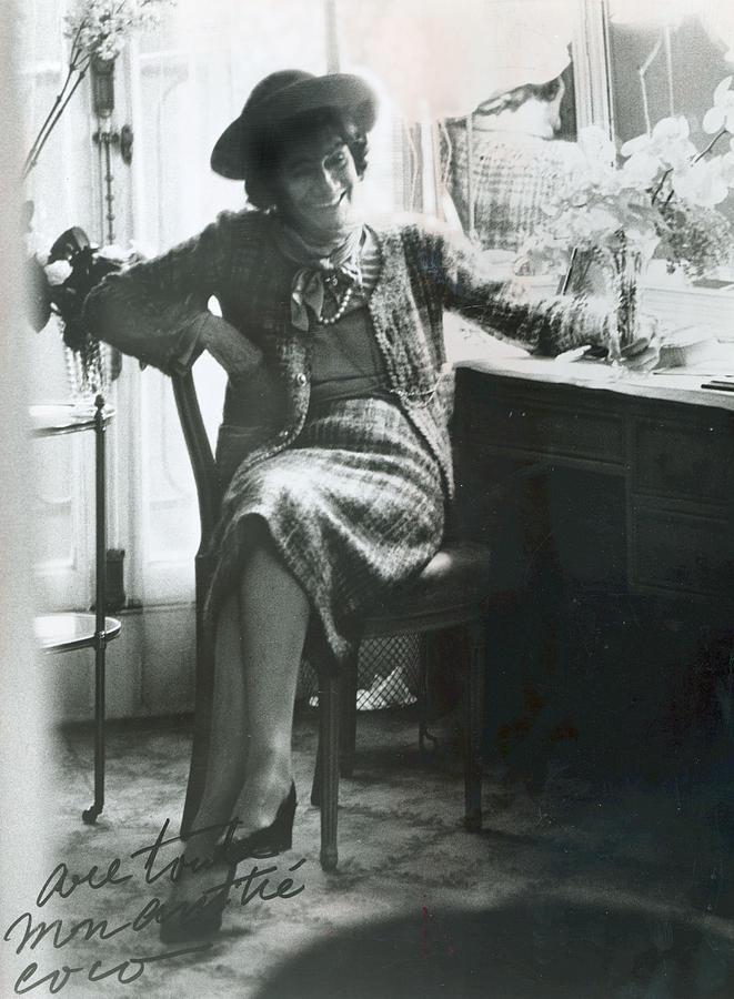 Gabrielle Coco Chanel, C. Mid 1960s Photograph