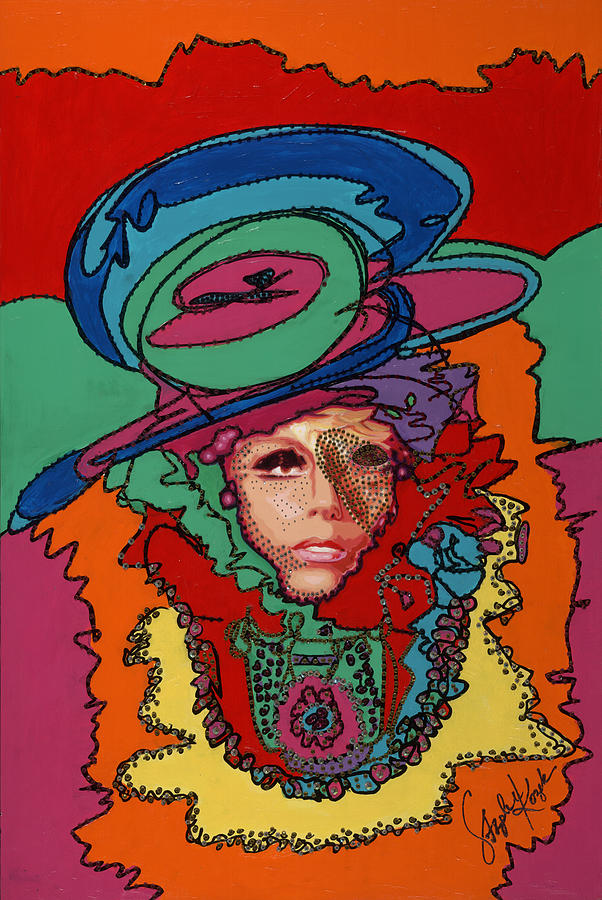 Gaga To The Max Painting  - Gaga To The Max Fine Art Print