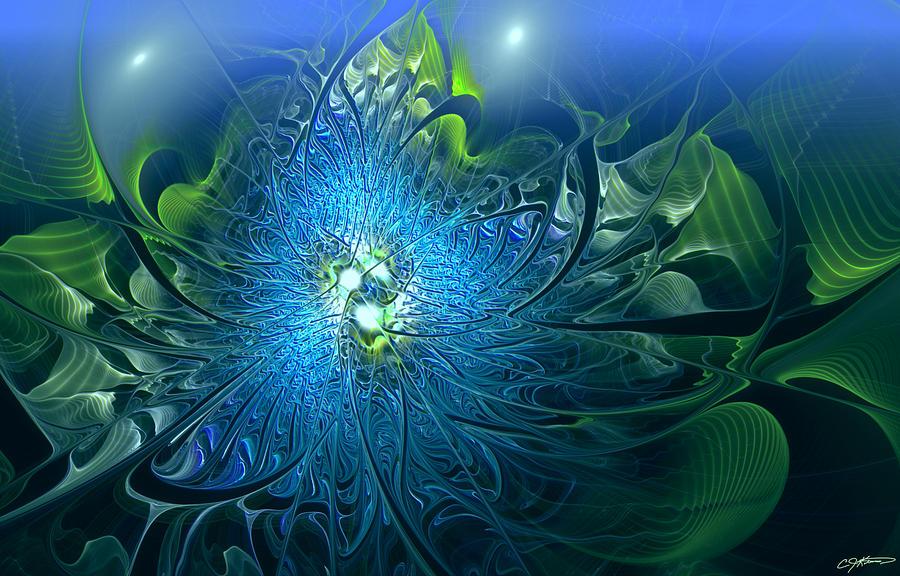 Gaias Emergence Digital Art