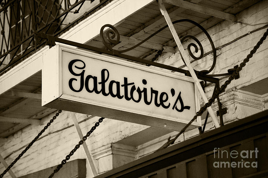 Galatoires Friday Brunch Photograph  - Galatoires Friday Brunch Fine Art Print