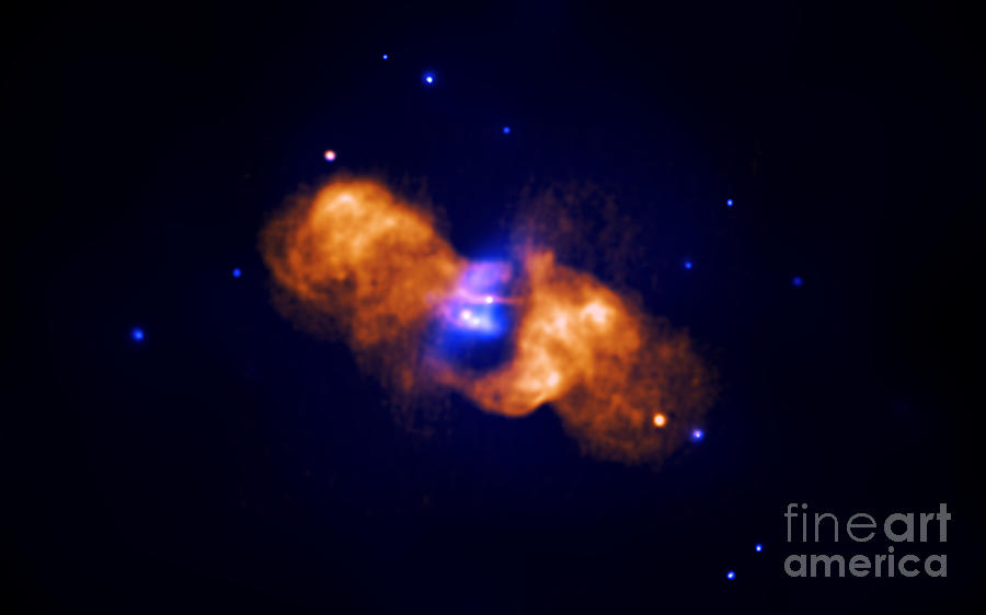 Galaxy Collision Photograph