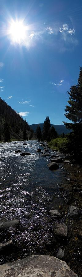 River Photograph - Gallatin River by Ken Peterson