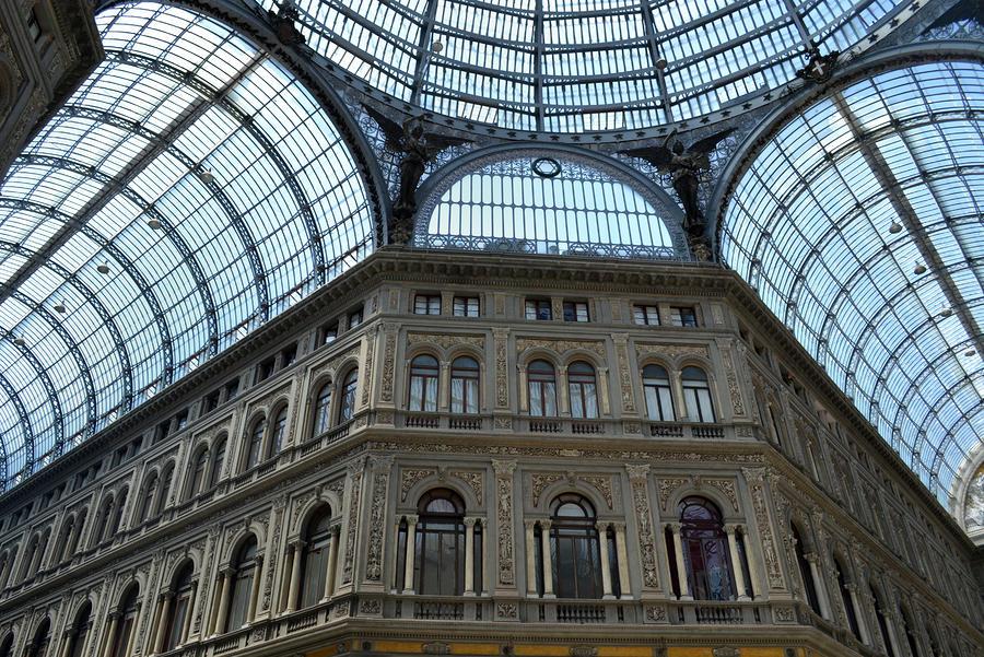Galleria Unberto 1 Photograph - Galleria Umberto 1 by Terence Davis