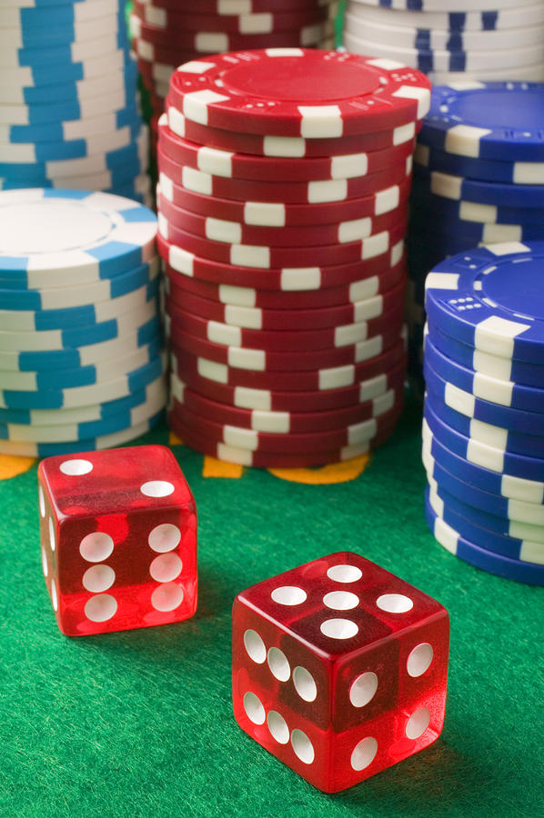 Gambling Dice Photograph