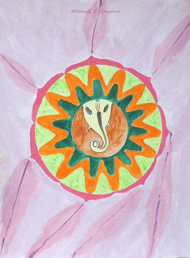 Ganesh Mandala Painting