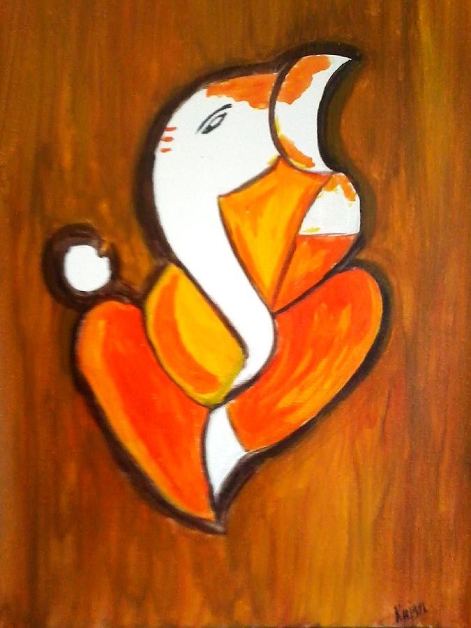 Modern Paintings Of Lord Ganesha   www.imgkid.com - The ...