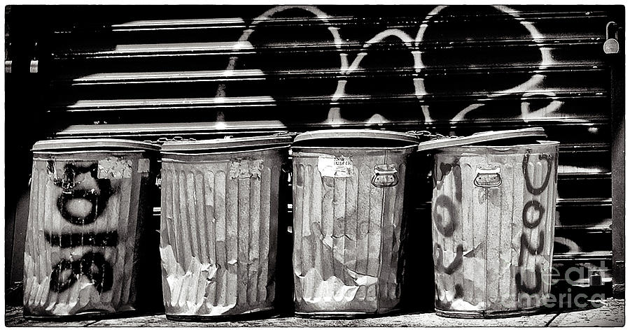 Garbage Photograph  - Garbage Fine Art Print