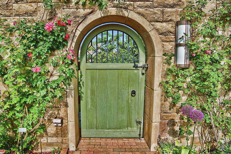 Garden Gate Photograph By Alan Hutchins