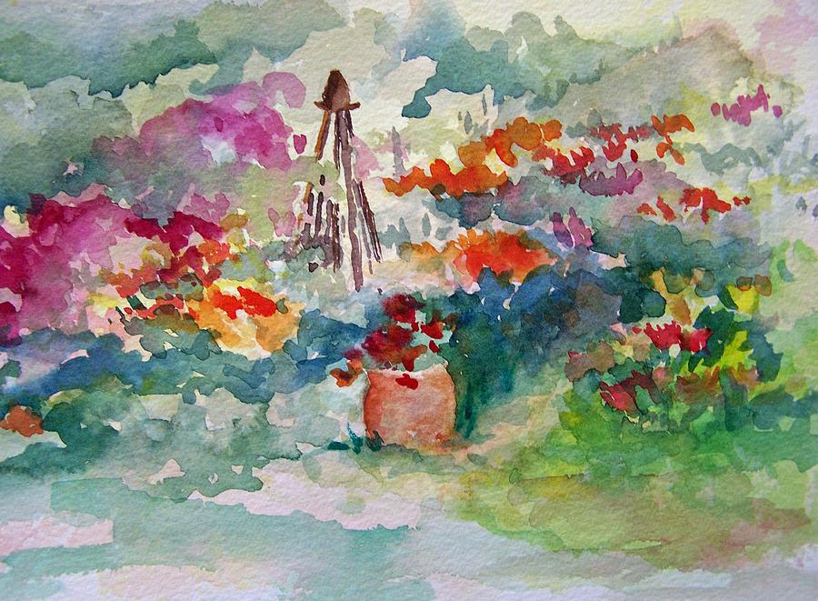 Garden Memories Painting