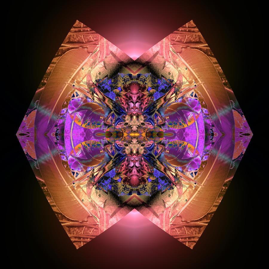Garden Of Color Digital Art