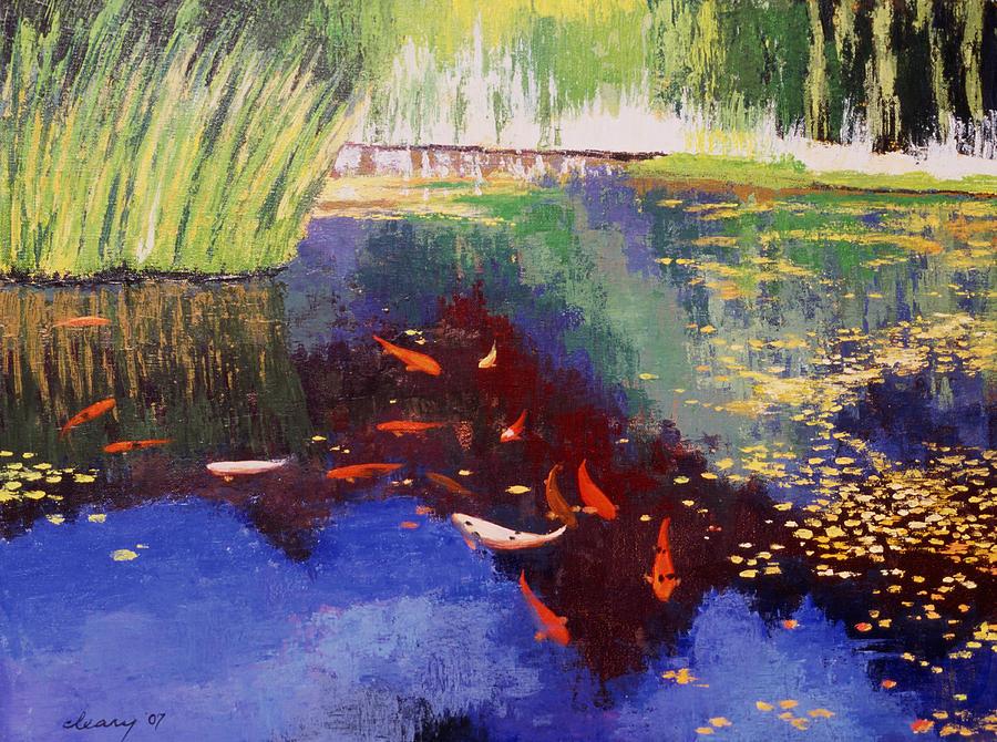 Garden Of Serenity Painting