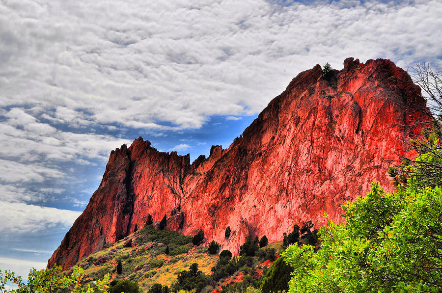 Garden Of The Gods 10  Photograph  - Garden Of The Gods 10  Fine Art Print