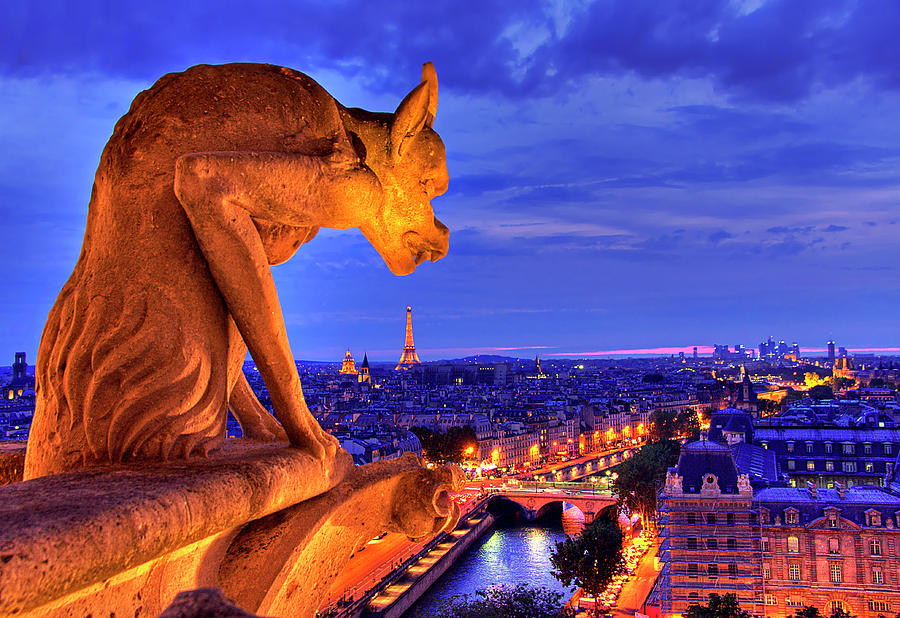 Gargoyle De Paris Photograph