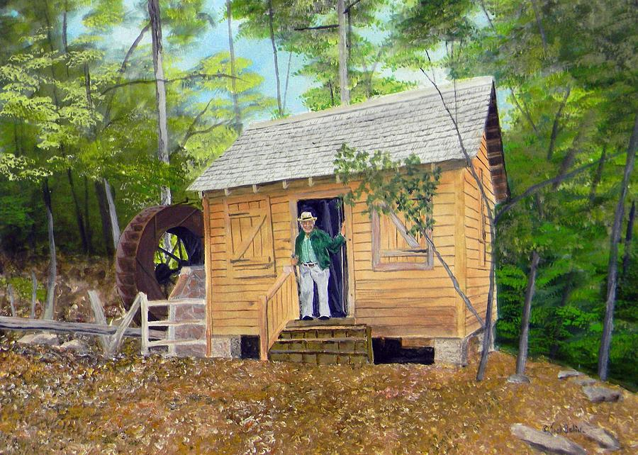 Garrison- Webb Mill Painting