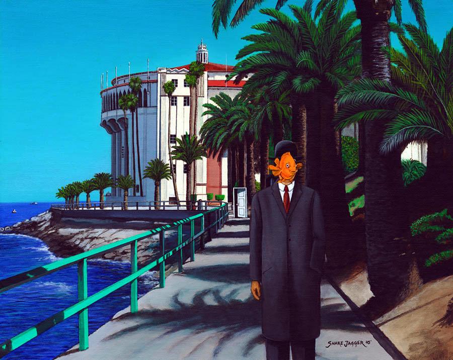 Gary Baldie Painting