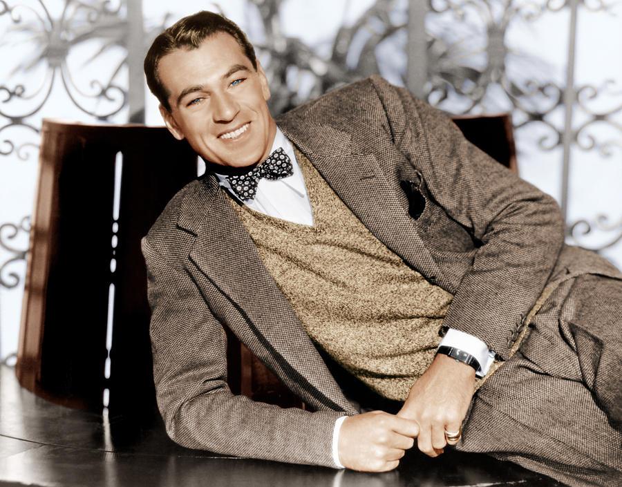 Gary Cooper, Ca. 1933 Photograph
