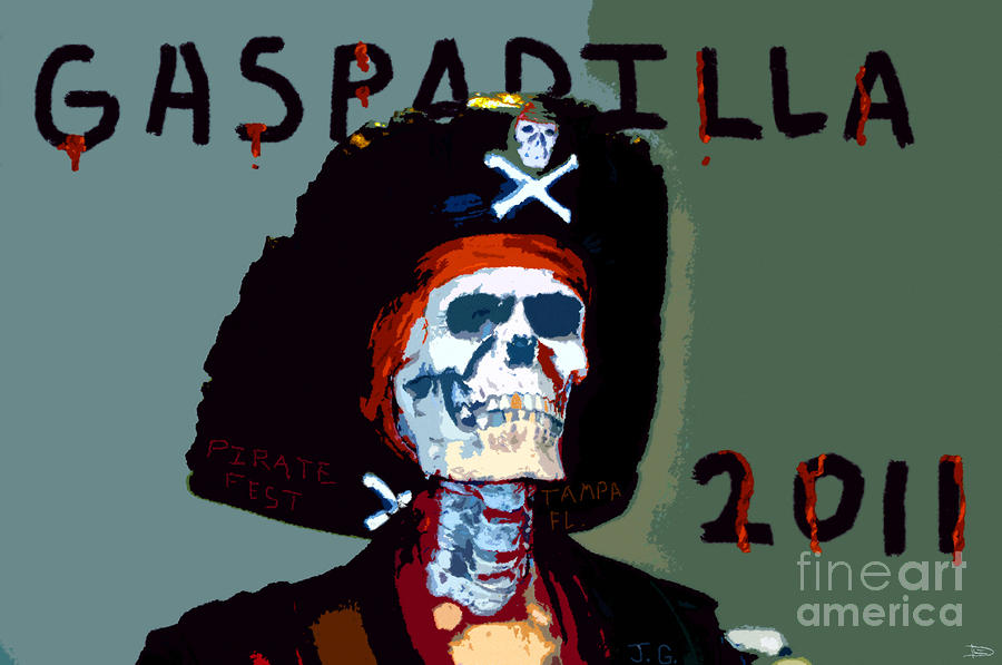 Gasparilla 2011 Work Number Two Painting