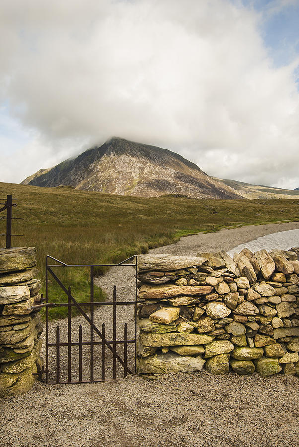 Gate At Llyn Idwal Photograph  - Gate At Llyn Idwal Fine Art Print