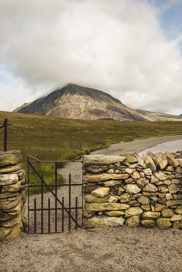 Gate At Llyn Idwal Photograph