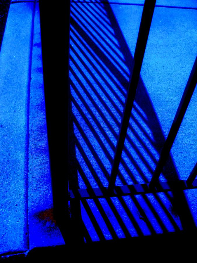 Gated Blue Photograph